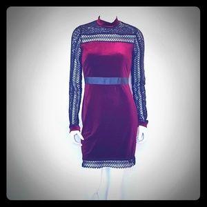 ROMEO + JULIET Couture NWT Women's Velvety Dress